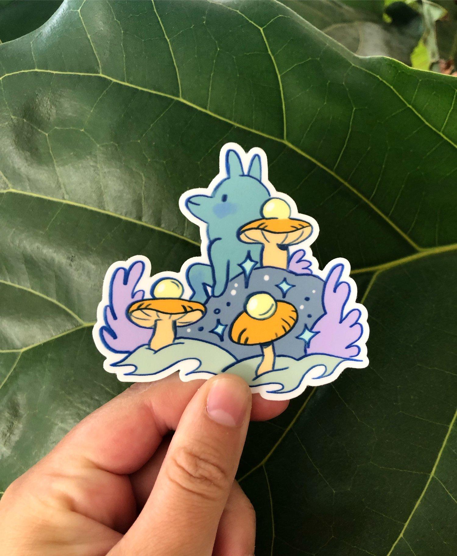 Mushroom Guardian ~ Sticker