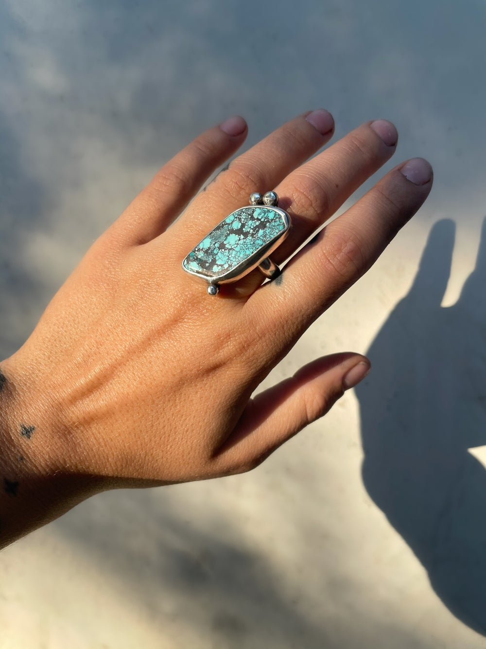 Image of Hubei Turquoise Ring