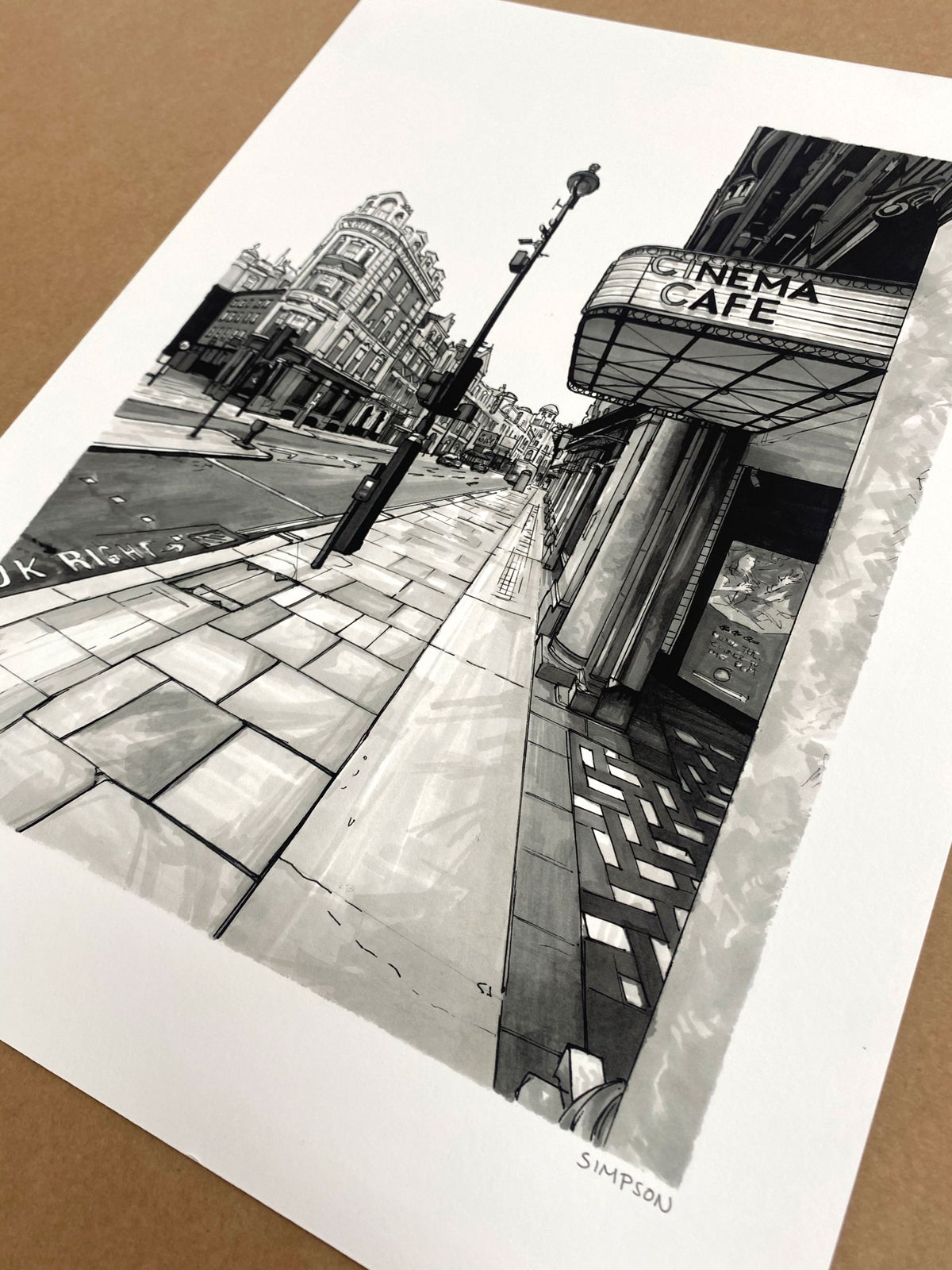 CENTRAL PICTUREHOUSE // LIMITED EDITION PRINT