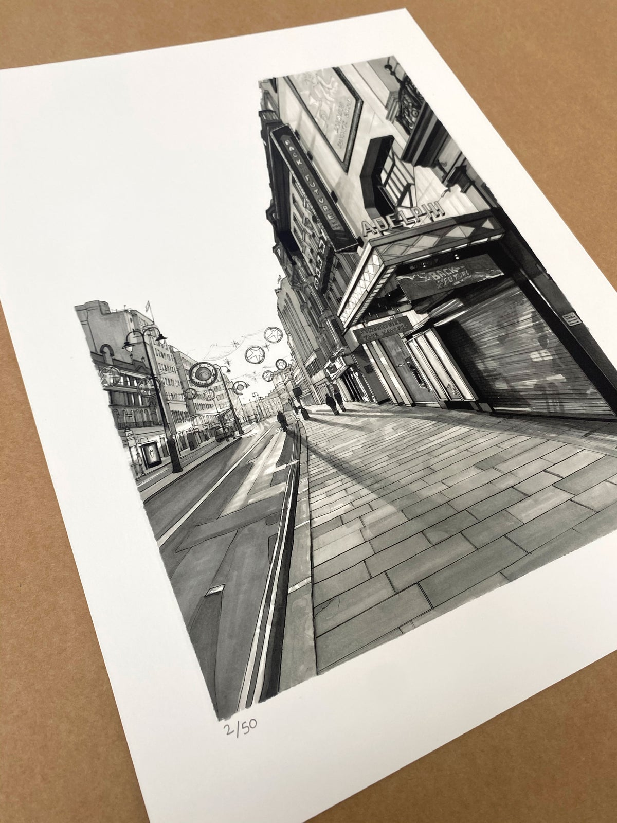 BACK TO THE FUTURE // LIMITED EDITION PRINT