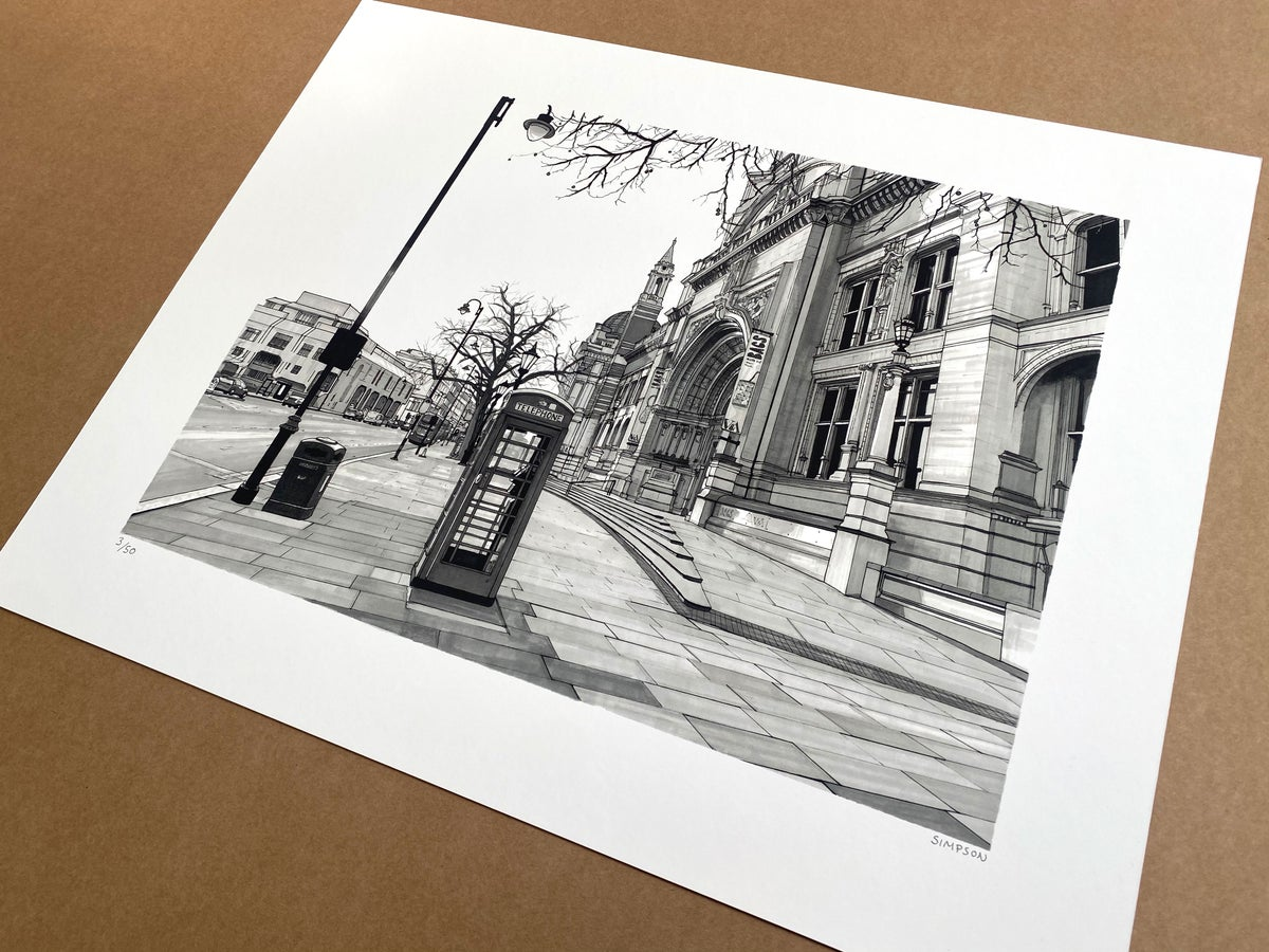 V&A // LIMITED EDITION PRINT