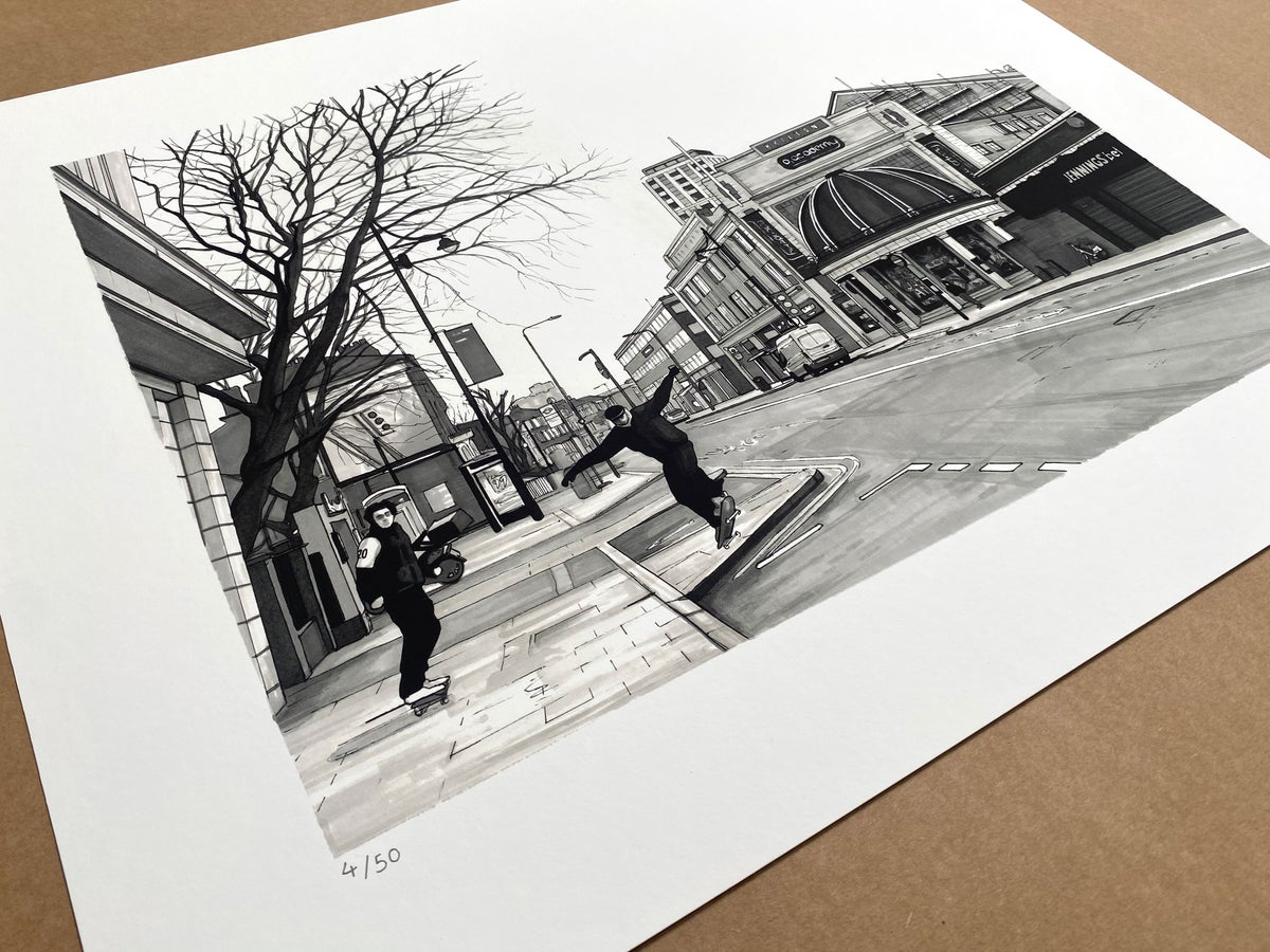 THIS IS JUST AN INTERVAL // LIMITED EDITION PRINT