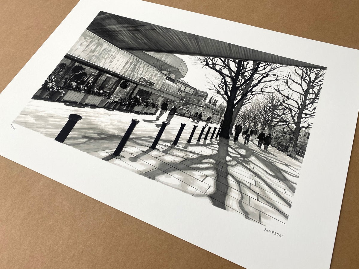 Southbank // LIMITED EDITION PRINT
