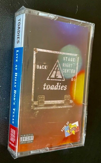 Toadies - Live at Billy Bob's Texas CASSETTE