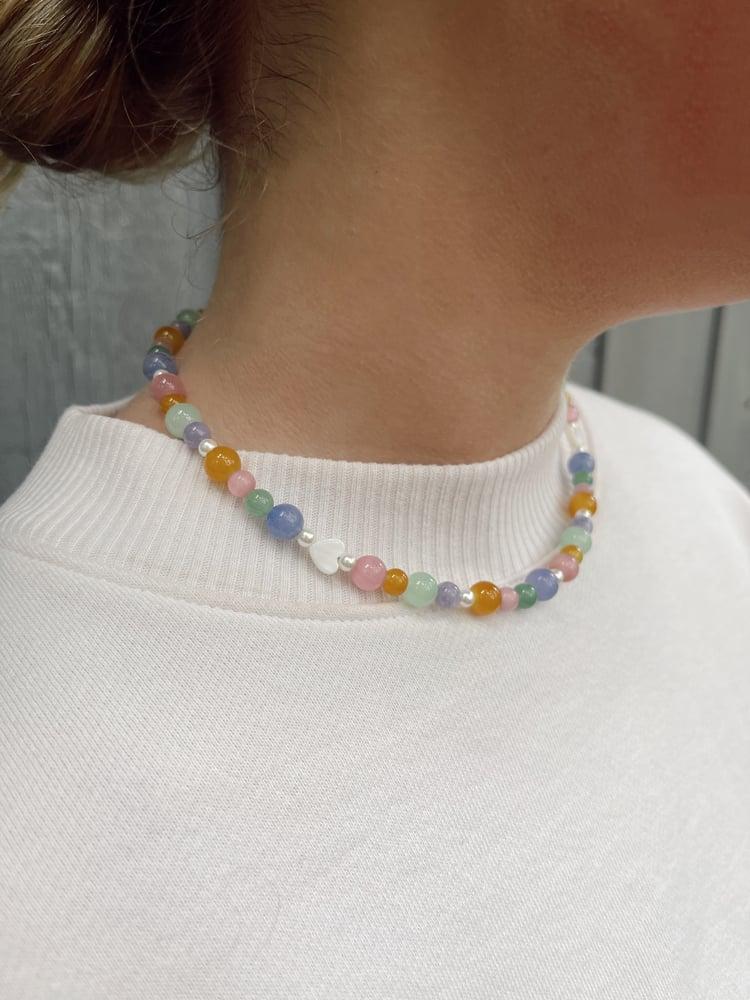 Image of Natural Gemstone Necklace