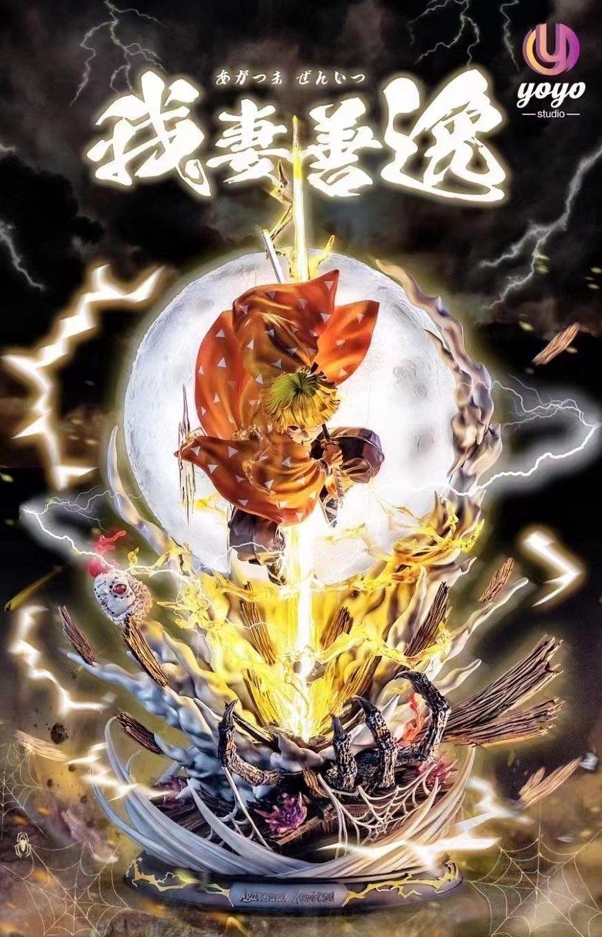 Image of [Early-Bird][Pre-Order]Demon Slayer YoYo Studio Zenitsu 1:6 Resin Statue