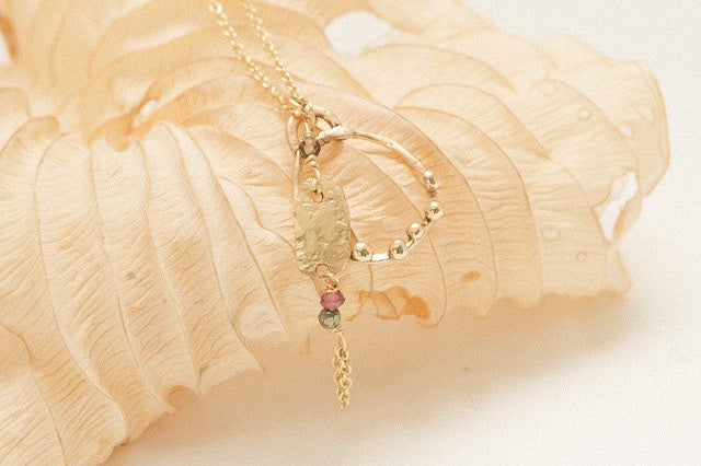 Image of Mariam 9ct gold necklace