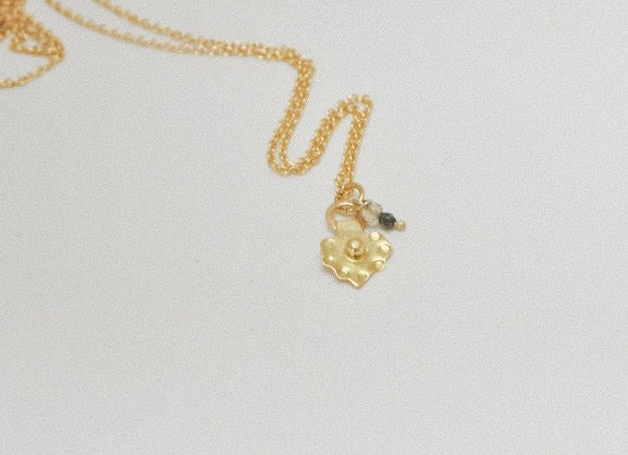 Image of Talisman 18ct gold necklace