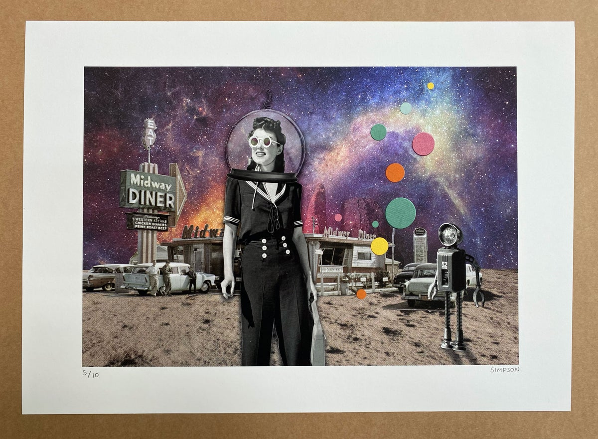 Midway Diner // LIMITED EDITION PRINT