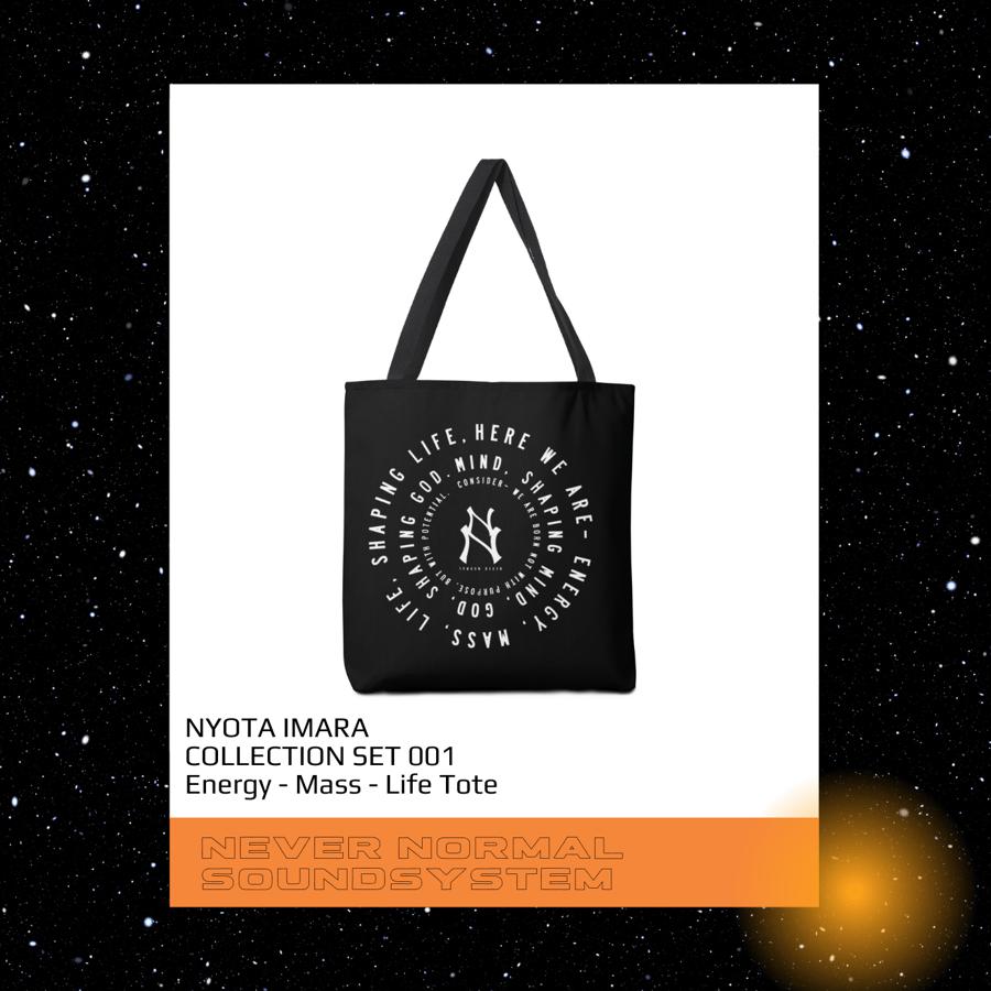 Image of Energy-Mass-Life Tote Bag