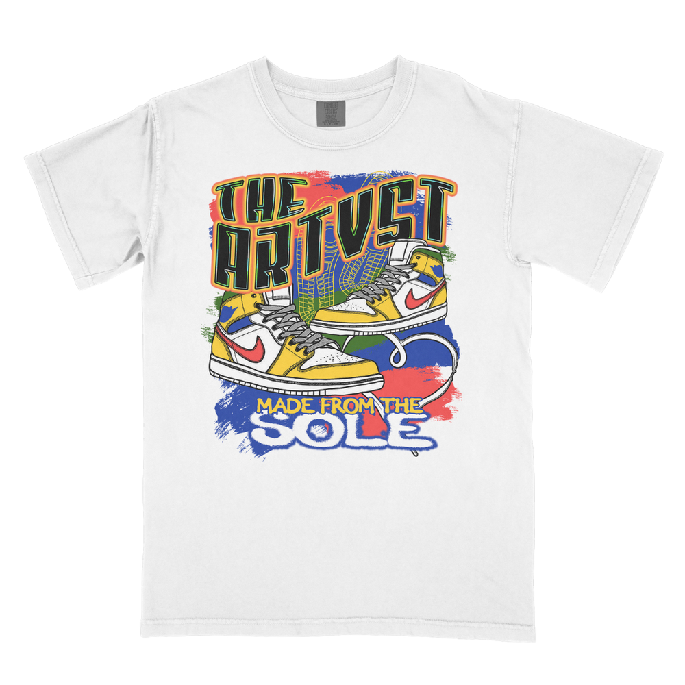 Image of Made From the Sole White Tee