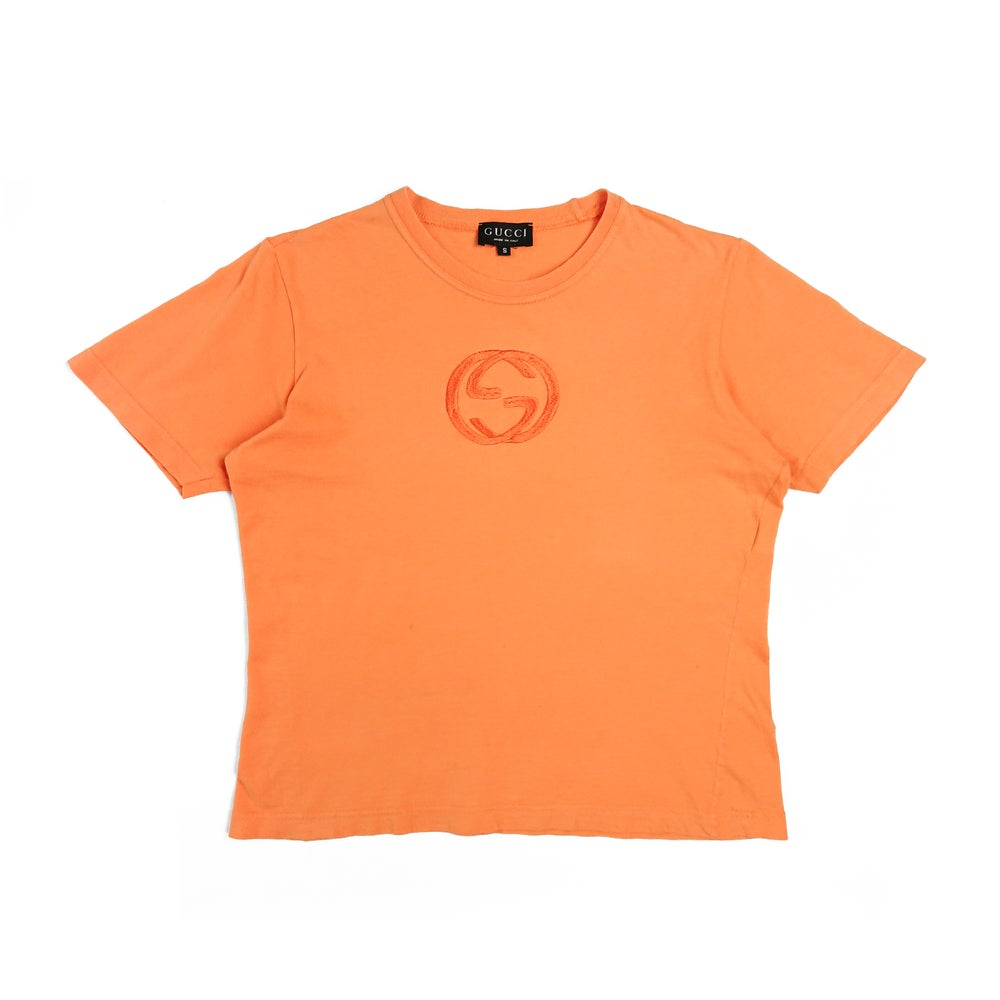 Image of Gucci by Tom Ford 1996 Logo T-shirt