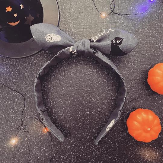 Image of Black Cat Curse Headband