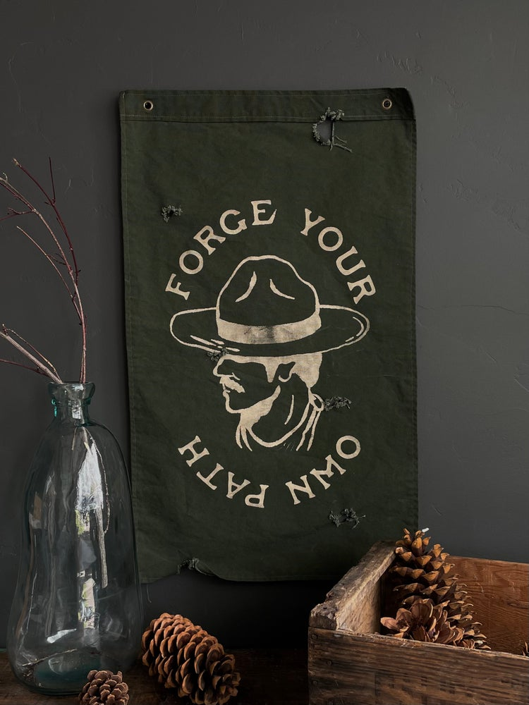 Image of FORGE YOUR OWN PATH FLAG