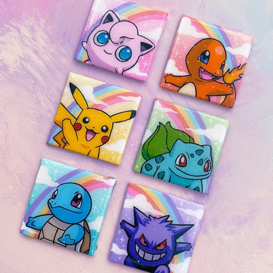 Image of Original Pokémon Mini Paintings