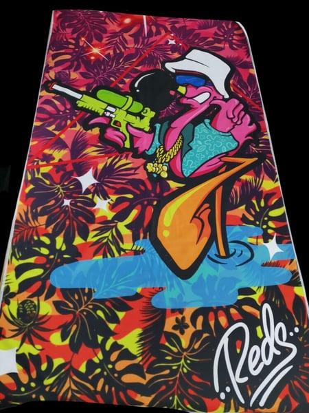 Image of PRE-SALE : Flamingo Towel IV