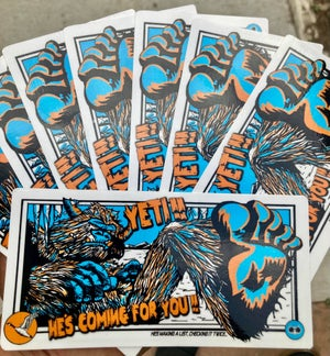 Image of GOOSE CREATURES STICKERS