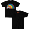 RUTHLESS PRO WRESTLING-OVER THE RAINBOW SHIRT