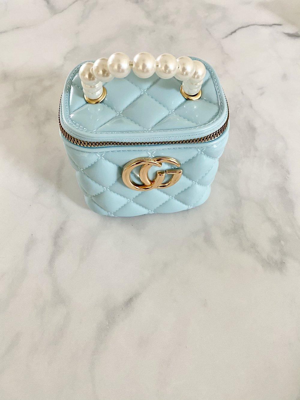 Stay Trending Mini Bag (Blue)