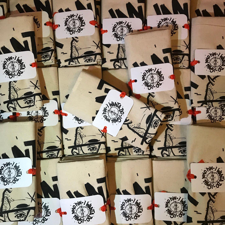 Image of Iwdmot tote bag plus stickers