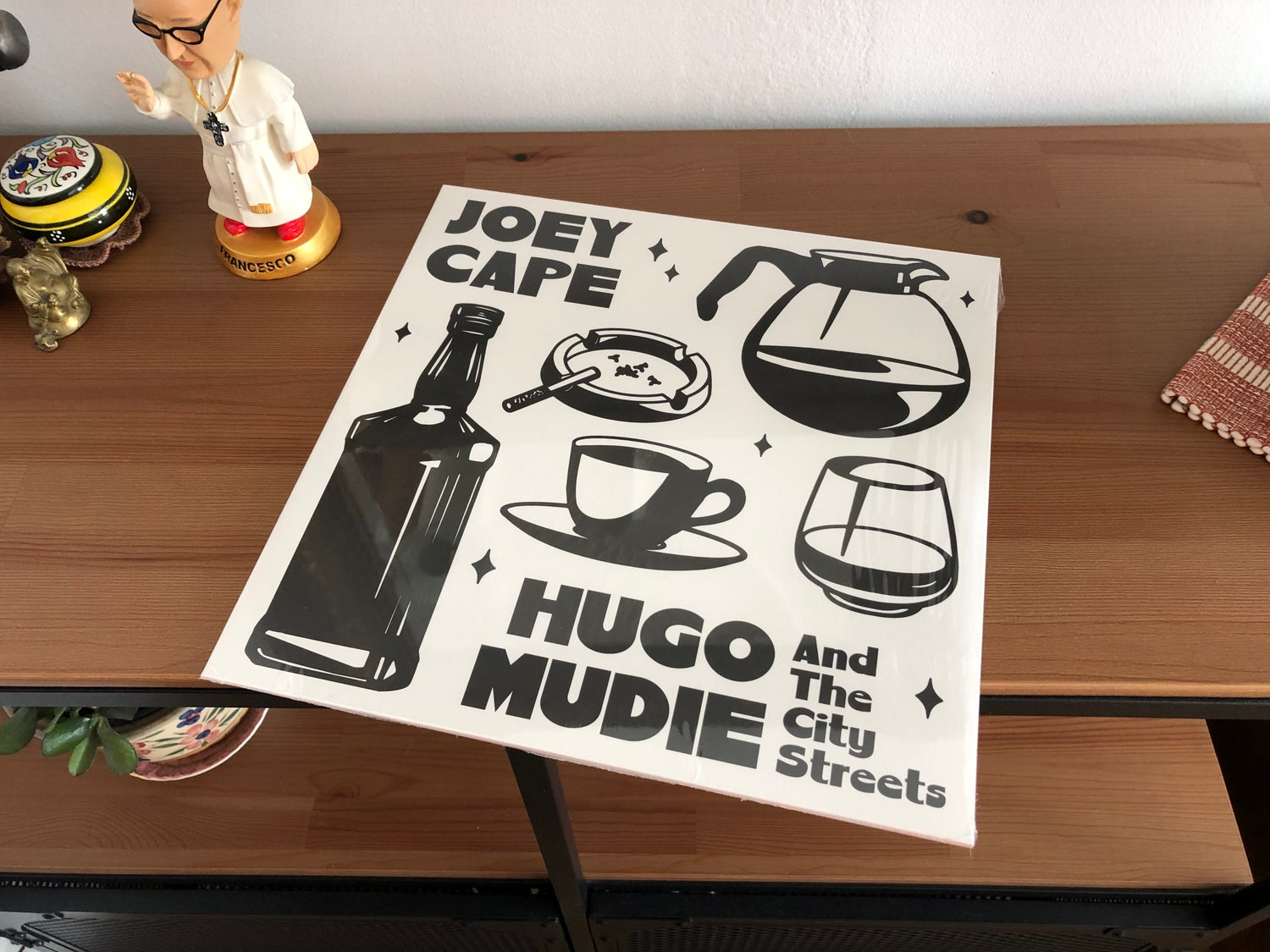 """Image of Joey Cape / H.Mudie & The City Streets split 12'' ( Clear """"Relish-Moutarde"""" )"""