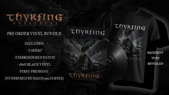 Image of Pre-order: THYRFING - Vanagandr - 1st pressing package (vinyl, t-shirt, patch)
