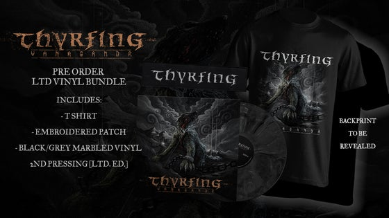 Image of Pre-order: THYRFING - Vanagandr - 2nd pressing package (vinyl, t-shirt, patch)