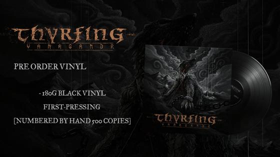 Image of Pre-order: THYRFING - Vanagandr - Vinyl (1st pressing)