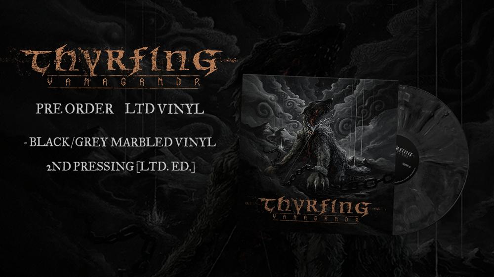 Image of Pre-order: THYRFING - Vanagandr - Vinyl (2nd pressing)