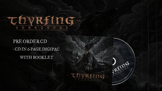 Image of Pre-order: THYRFING - Vanagandr - CD