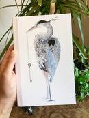 Image 1 of Heron & Skeleton Key Journal