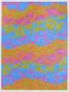 tetrad color scheme acrylic painting