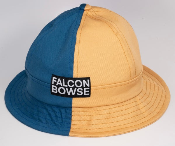 Image of Blue and gold bucket