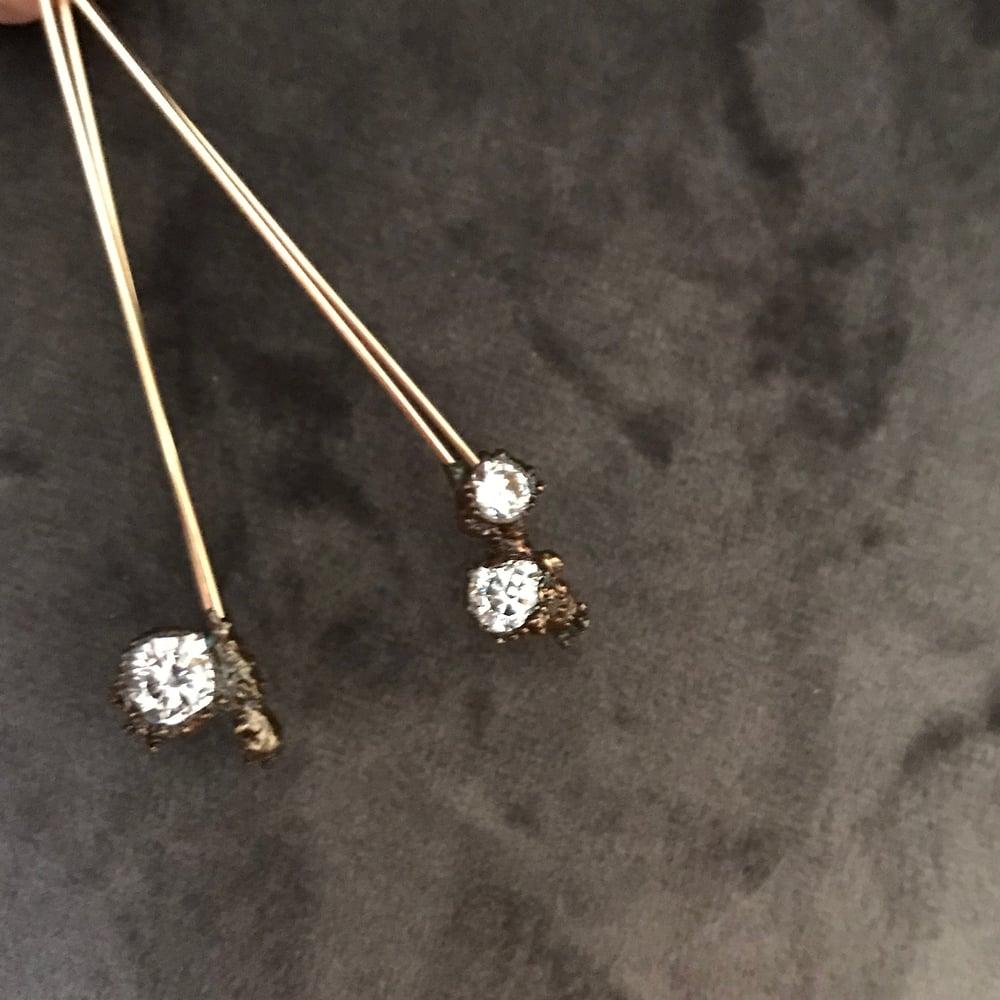 Image of STARLIGHT stick earrings