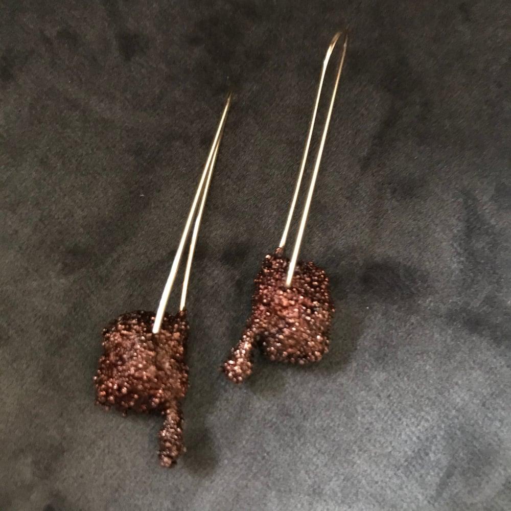 Image of STARLIGHT II stick earrings