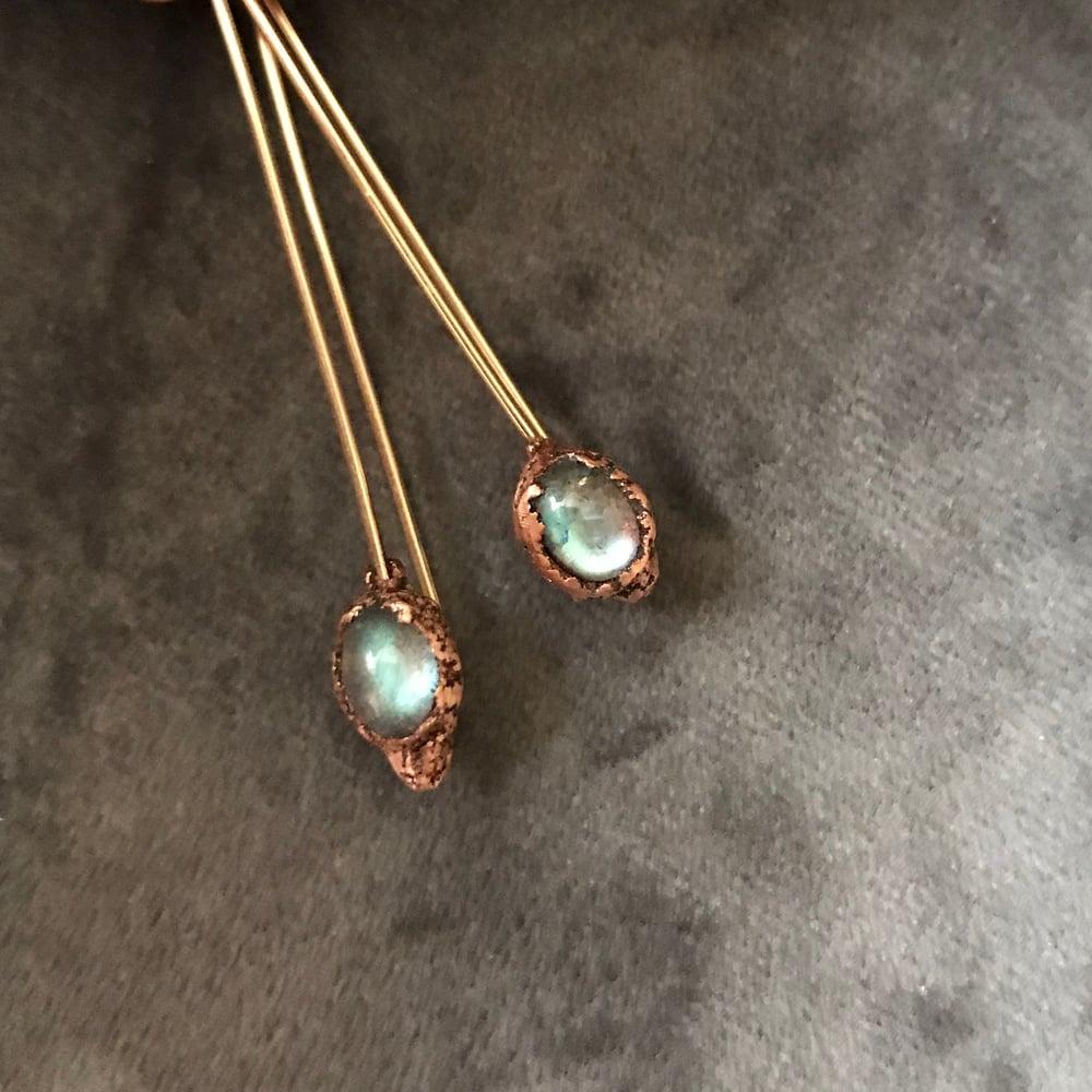 Image of STARLIGHT III stick earrings