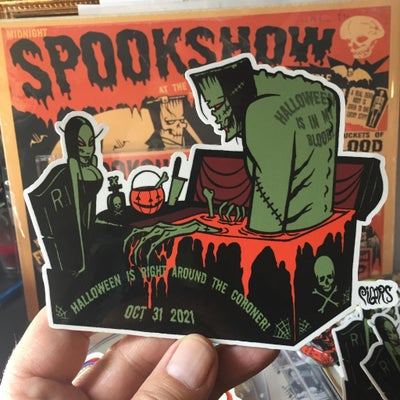 Image of HALLOWEEN IS IN MY BLOOD - STICKER