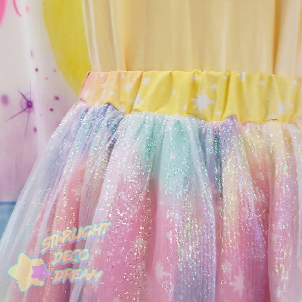Image of Rockin' Rainbow Idol Skirt / SMALL