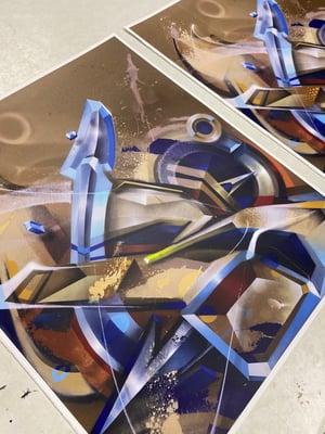 """Sand Effect"" Ltd Edition print"