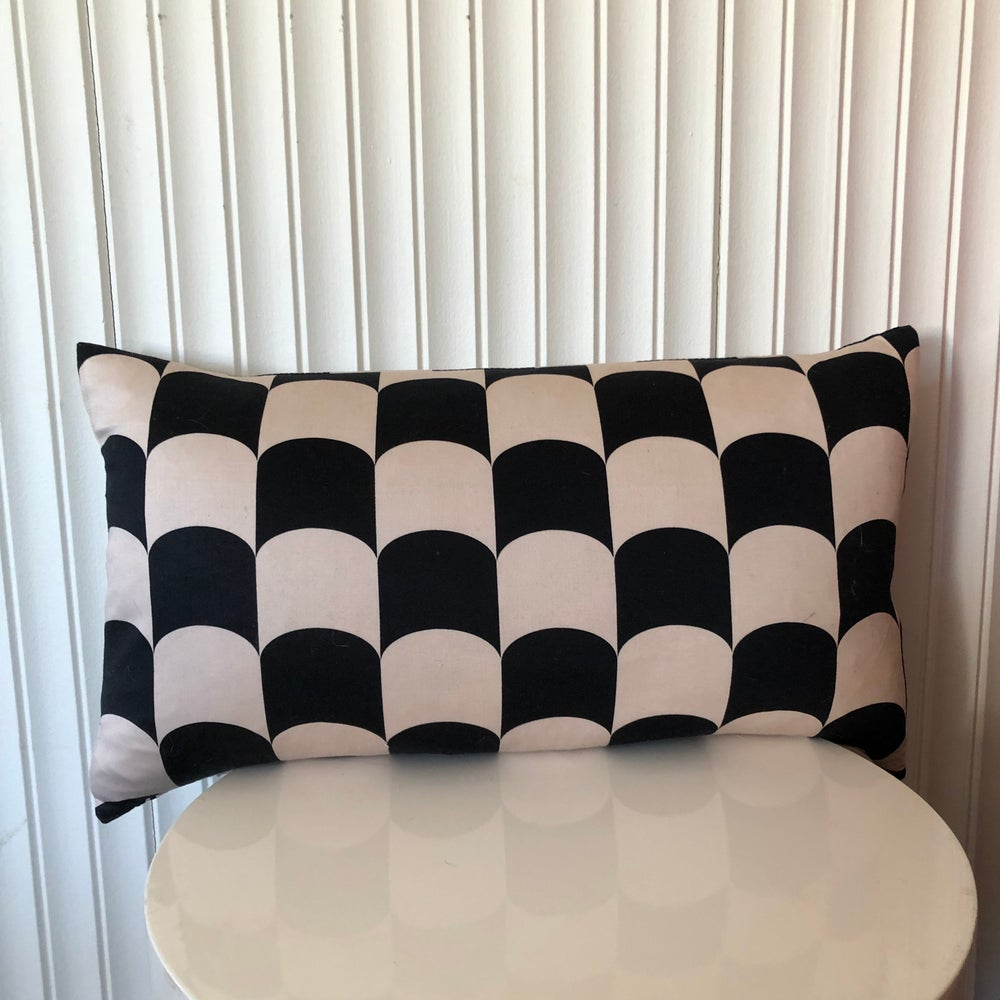 Image of Art Deco Arches cushion cover