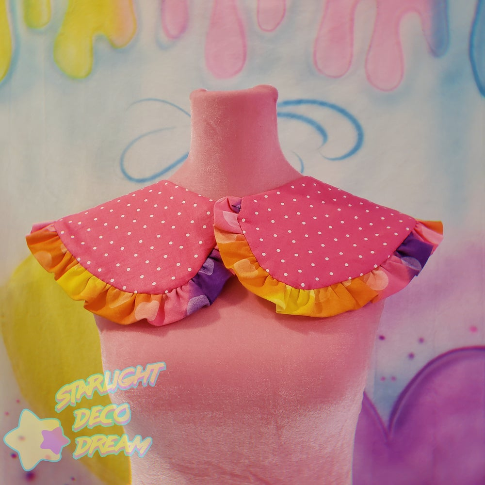Image of PJ Party Bears Detachable and Reversible Collar / C