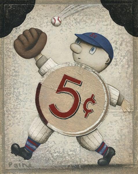 Image of 5-cent Baseball