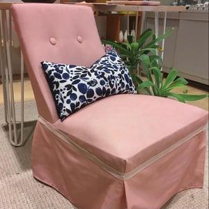 Image of Little Vintage Bedroom Chair