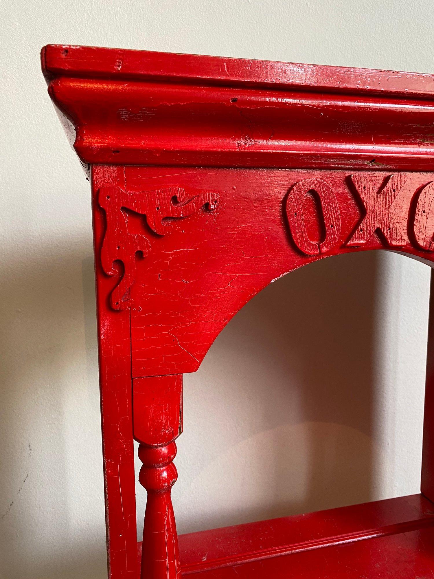 Image of Mid-Century Vintage OXO Cube Kitchen Shelf