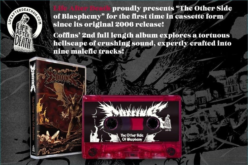 """Image of """"THE OTHER SIDE OF BLASPHEMY"""" TAPE"""