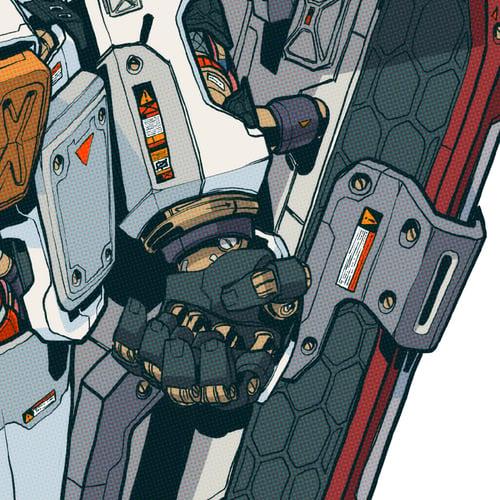 Image of MECHASOUL TITAN RX78-2