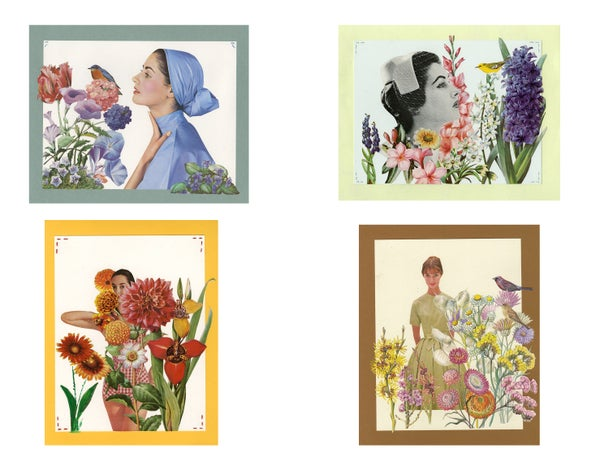 Image of Seasons note cards.