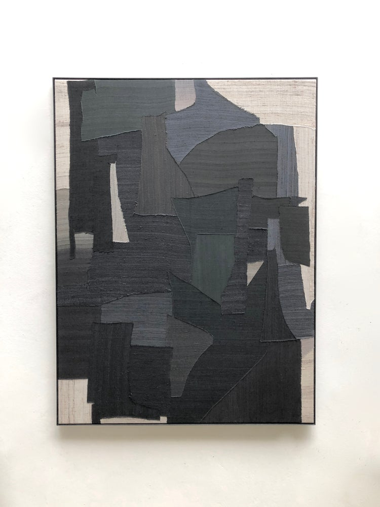 Image of stitched abstract composition
