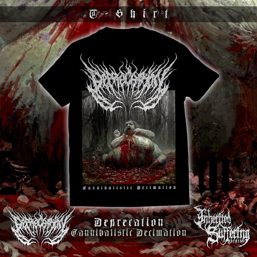 Image of Deprecation - Cannibalistic Decimation - T-Shirt