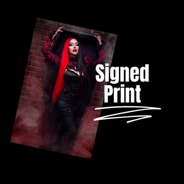 Image of Vampire print